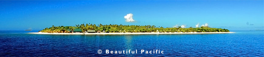 a fiji island holiday resort